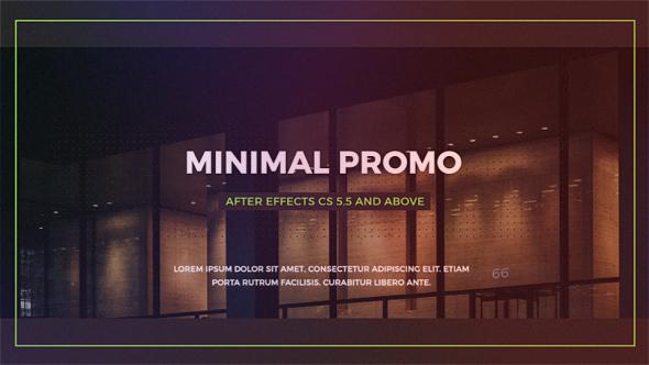 VideoHive Minimal Promo 19547178