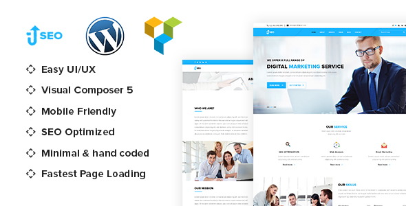 Download SEO - Marketing & SEO WordPress theme