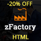 zFactory - Industry and Construction Responsive Bootstrap HTML5 Template