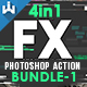 FX Photoshop Action Bundle -Graphicriver中文最全的素材分享平台