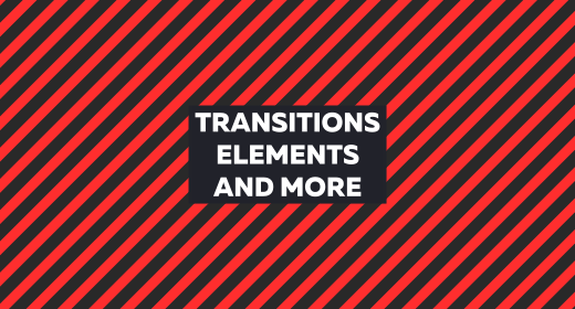 Transitions, elements and more