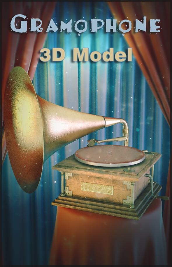 3DOcean Gramophone 19550140