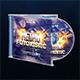 Retro City CD Cover Artwork