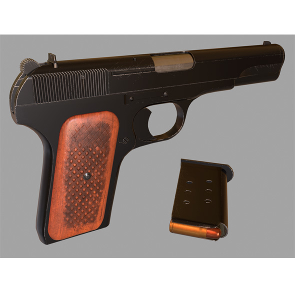Tokarev tt-3 - 3DOcean Item for Sale