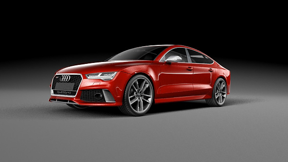 Audi RS7 Sportback 2016 - 3DOcean Item for Sale