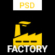 Factory - One page PSD Template