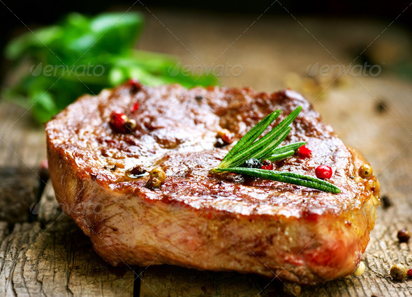 PhotoDune Grilled Steak 1917819