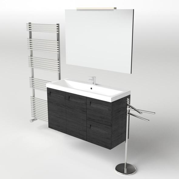 Washbasin Set 1 - 3DOcean Item for Sale