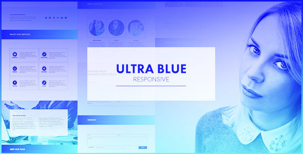 Ultra Blue – Responsive Multipurpose Muse Template (Inventive)
