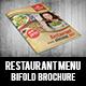 Restaurant Menu Bifold Brochure