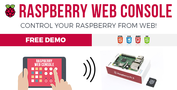 RWC - Raspberry Web Console - CodeCanyon Item for Sale