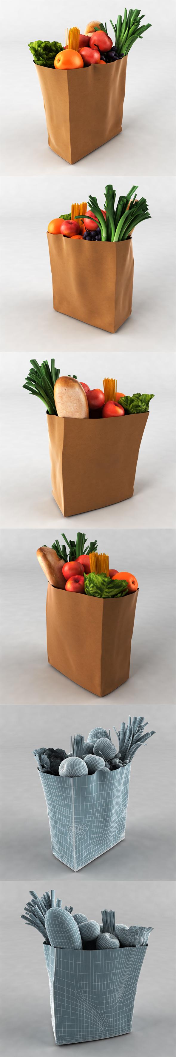 Groceries - 3DOcean Item for Sale