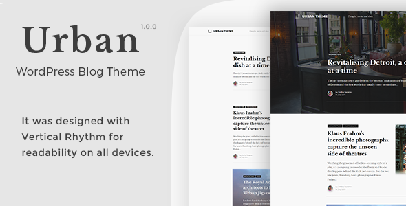 Download Urban - WordPress Blog Theme