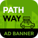 PathWay Travel | Animated html5 Google web Banner