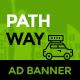 PathWay Travel   Animated html5 Google web Banner