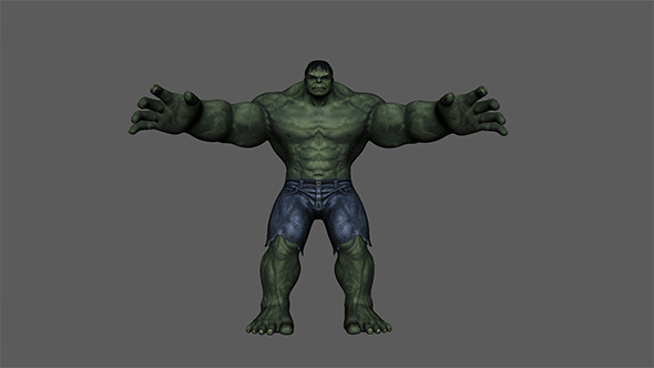 Hulk - 3DOcean Item for Sale