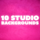 Studio Photo Backdrops