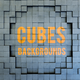 3d Cube Blocks Backgrounds