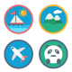 Travel & Activities Icon Pack