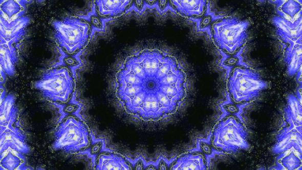 VideoHive VJ Gold Veins Kaleidoscope 19554934
