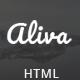 Aliva - Multipurpose Bootstrap Template