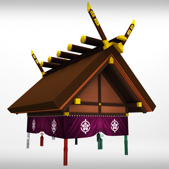 Sumo roof arena sport - 3DOcean Item for Sale