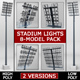 Stadium light lux pack