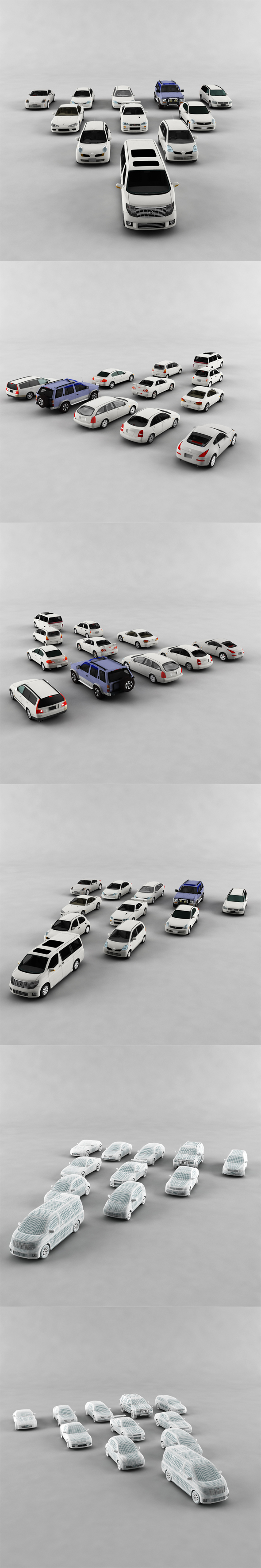 Complete Vehicle Pack 2 - 3DOcean Item for Sale