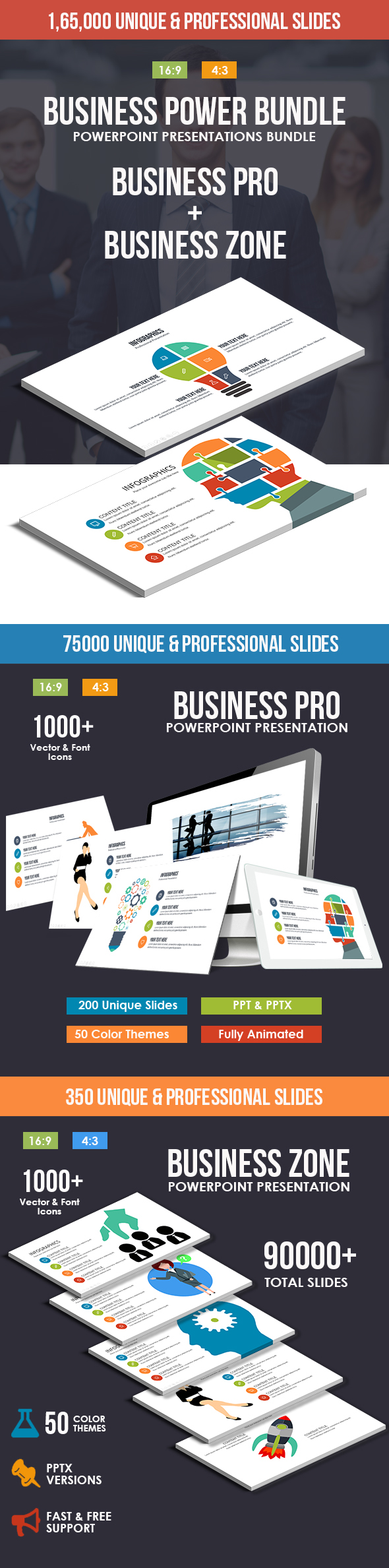 Business Power Powerpoint Bundle