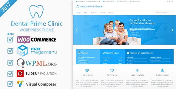 Dental Prime- Healthcare Wellness Care &amp Dentist Center, Multi-Goal Responsive WordPress Theme (Wellness &amp Beauty)