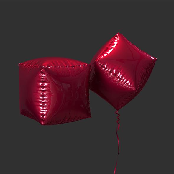 3DOcean Balloon Cube 19558691