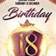 Birthday Part 2 Flyer Template