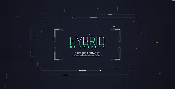 VideoHive Hybrid Ui Screens 19560630
