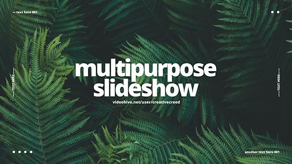 VideoHive Multipurpose Slideshow 19560809