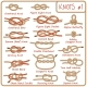 Set of Rope Knots, Hitches, Bows and Bends