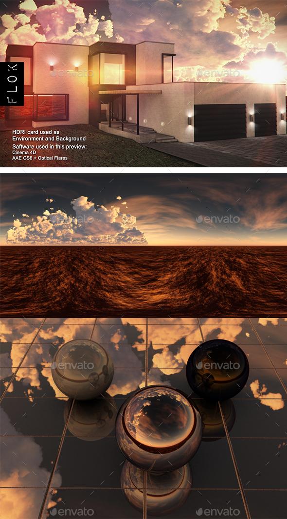 Sunset Desert 93 - 3DOcean Item for Sale