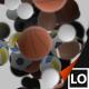 4K Sport Balls Transition