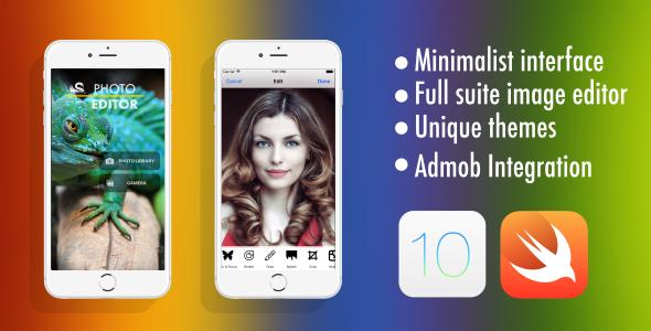 Photo Editor - Swift 3 - Admob - Universal - CodeCanyon Item for Sale