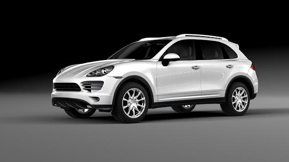 Porsche Cayenne 2014 - 3DOcean Item for Sale