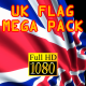 3D Flag Pack UK