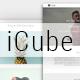 ICUBE_Muse Portfolio Template