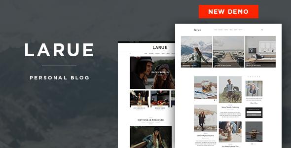Larue - Personal Blog