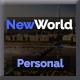 NewWorld - Responsive Personal Portfolio Template