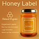 Honey Label Design Templates