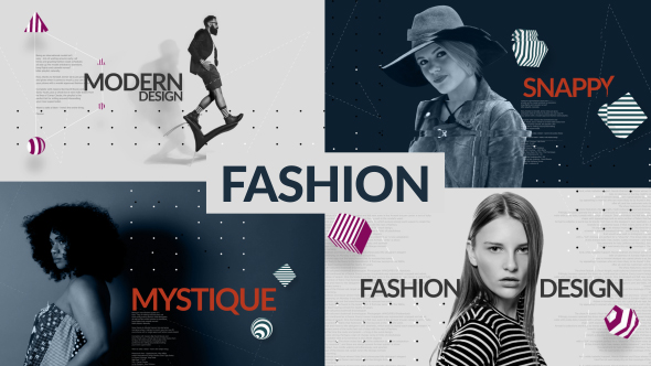Fashion Promo Stomp Opener After Effects Template Videohive 19565553 After Effects