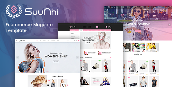 TV Suunhi - Responsive Magento 2 Fashion  Theme