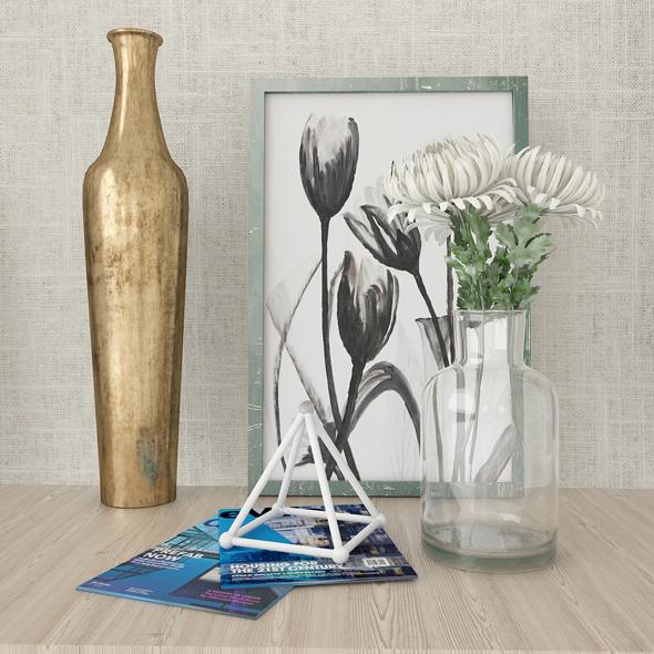 Decorative elements - 3DOcean Item for Sale