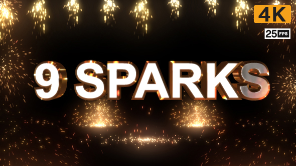 VideoHive Sparks 19567585