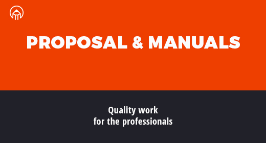 Proposals and Brand Manuals