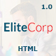 EliteCorp Multipurpose HTML5 Template